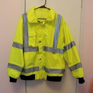 Men's Hi-Vis Day-Glo Jacket